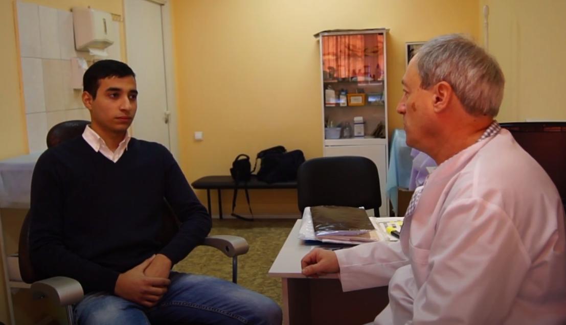Интервью с пациентом после операции